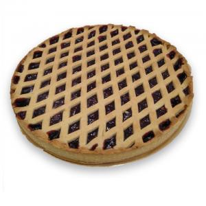 crostata con marmellata