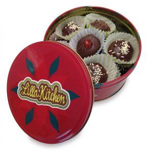 scatola biscotti Sacher
