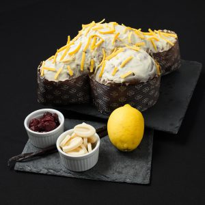 colomba fragole limone