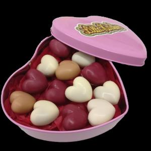 cuori cioccolato